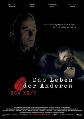 El cartel de la película 'La vida de los otros'.