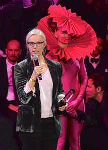 Anne Sofie von Otter, en la entrega de los premios Grammi suecos en febrero de 2013. Autor: Frankie Fouganthin (CC). Vía: Wikimedia.