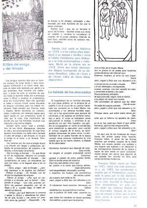 La 'Balada de los ahorcados', ilustrada con unos ahorcados.