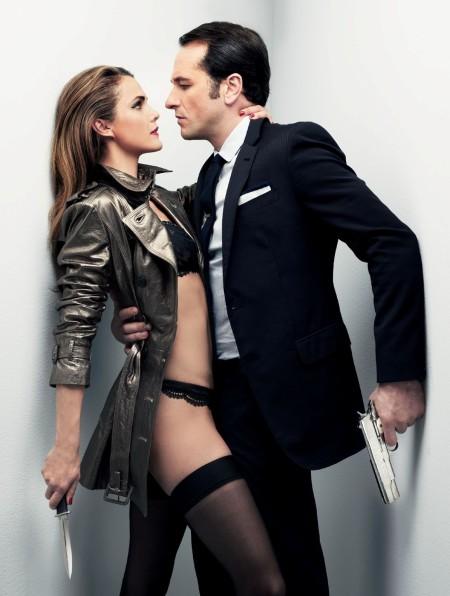 """Keri Russell y Matthew Rhys, en una sesión fotográfica para la revisa 'GQ'. Podría ejemplificar el eslogan de la primera temporada: """"Todo vale en el amor y la Guerra Fría""""."""